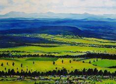 Mountains, Nature, Painting, Travel, Ideas, Naturaleza, Viajes, Painting Art, Paintings
