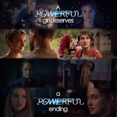 Well... That is very true... And it did happen. Argue with me all you want, but her ending was powerful.
