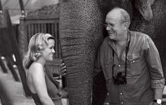 Peter captures Reese Witherspoon Reese Witherspoon, Peter Lindbergh, Portrait Art, Portraits, Elephant, Vogue, Hollywood, Hero, Inspiration