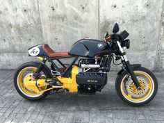 K1 CAFE RACER, can you keep the K1 ADN in a racer conversion?- BMW K75 K100 K1 K1100
