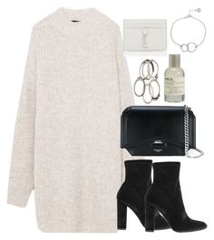 """""""Untitled #3430"""" by theeuropeancloset on Polyvore featuring Steve Madden, Givenchy, Le Labo, Yves Saint Laurent and Chupi"""