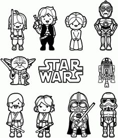 Lego Star Wars Characters Printable