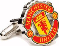 Men's Cufflinks Inc Manchester United Football Club - Yellow/Orange Black Friday - Cyber Monday