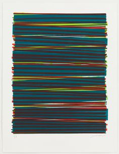 Line Series Monoprint No. 07 by Dana Mcclure on Artsicle