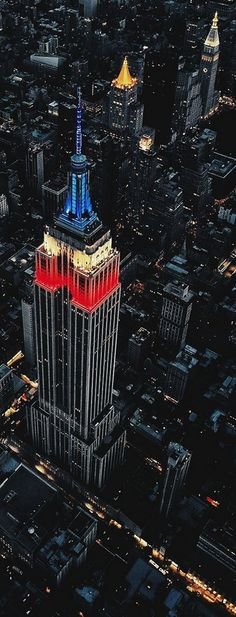 THE EMPIRE STATE BUILDING, NEW YORK, USA. WHAT A BEAUTIFUL PICTURE OF ONE OF OUR MORE FAMOUS ICONS