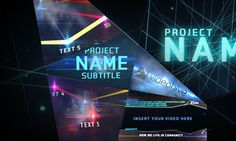 30 Futuristic After Effects Templates via Naldz Graphics @qinqshan yu
