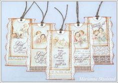 Mariannes papirverden.: Gavelapper - Pion Design