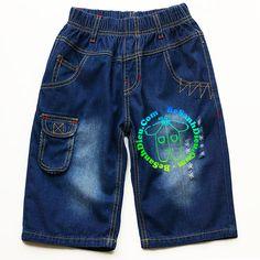Quần jean lửng cho bé trai vải jean mềm rất đẹp từ 23kg đến 42kg Quần áo bé trai…