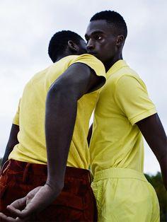 Francis Villava & Bakay Diaby by Florent Vindimian | Wad Magazine   Styled by Edem Doussou