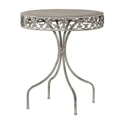Perfectly designed to match our Grey-Wash Garden Chairs, our Juliet table offers a fabulous romantic and tranquil appearance with a shabby chic finish.