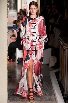 The Spring 2013 Runway Report - Eastern Promises - Emilio Pucci