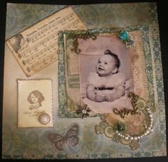Layout: My Baby Picture