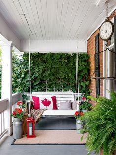 How to makeover your front and backyard—DIY expert Karen Bertelsen created two distinctly different outdoor spaces at her historic Dundas, Ont. home. Here's how she made over her front and backyard.