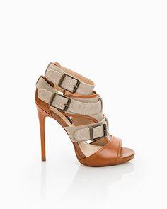 Brenda Strappy Buckle Heels