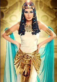 cleopatra costume. Sorta hate that wig though