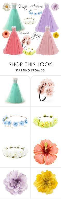 """Season Flowers"" by qwertyuiop-sparta ❤ liked on Polyvore featuring Forever 21, Cara and Gucci"