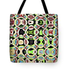 Glass And Rock Abstract Tote Bag featuring the photograph Glass And Rock Abstract by Tom Janca