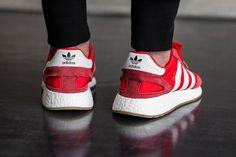 On Foot  adidas INIKI Runner (Red   Collegiate Navy 8e69a64f9