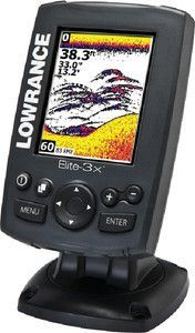 Lowrance 000-11448-001 Elite-3X Fishfinder with 83/200 Transducer