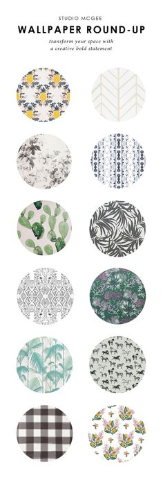 We've rounded up our very favorite wallpaper!