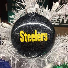 Holiday Christmas Tree Ornament NFL Football Pittsburgh Steelers