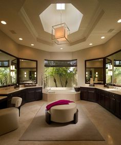 21 Dream Master Bathrooms That Will Leave You Breathless - ArchitectureArtDesigns.com