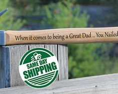 you nailed it hammer, you nailed it, personalized hammer, building memories, memories hammer, building a life, grandpa hammer, thank you -    Edit Listing  - Etsy,,#easter gifts,#personalised easter gift
