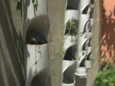 Horta Vertical - Como cortar o cano