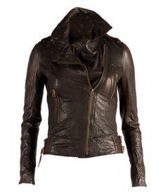 All Saints Women's Lana Leather Jacket