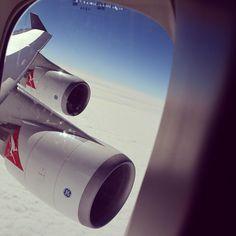 @zjwhatley - #qantas #qantasairways #747 #boeing #travel #melbourne #adventure #antarctica #mysteryflight #life #love #live #culture #cultural #doubledecker #jumbo #jet #jets #australia #longreach