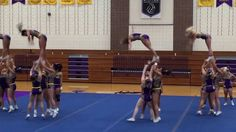 ce92697722 The Elmira College cheerleading team unveiled its routine for the 2016 National  Cheerleaders Association (NCA) College Nationals on Monday