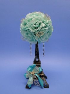 Eiffel Tower centerpieces help you share the Paris quinceanera theme with your guests Paris Quinceanera Theme, Quinceanera Planning, Quinceanera Decorations, Quinceanera Party, Quince Decorations, Wedding Decorations, Wedding Ideas, Paris Theme Centerpieces, Eiffel Tower Centerpiece
