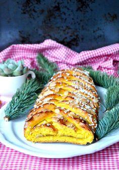 Swedish Saffron Braided Bread