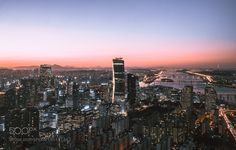 Sunsets in Seoul by tgaweco #architecture #building #architexture #city #buildings #skyscraper #urban #design #minimal #cities #town #street #art #arts #architecturelovers #abstract #photooftheday #amazing #picoftheday