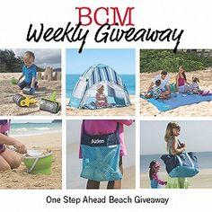 BCM Weekly Giveaway: One Step Ahead Beach Bag Essentials