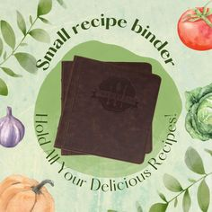 Recipe Organization, Life Organization, Book Binder, Chef Kitchen, Recipe Of The Day, Easy Meals, Yummy Food, Favorite Recipes, Ring