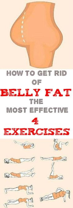 Any of us wants to have a flat belly. Sometimes, diet and some exercises do not help you at all to get rid of that annoying belly fat. Nevertheless, we have the best exercises, which will help you to get rid of belly fat in the fastest way.Continue reading...