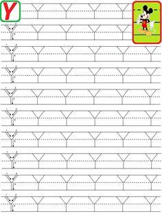 50+Y+MARE.gif 768×1.024 pixeli Preschool Number Worksheets, English Worksheets For Kindergarten, Alphabet Tracing Worksheets, Alphabet Writing, Numbers Preschool, Alphabet Print, Preschool Activities, Bilingual Education, Autism