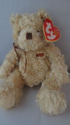 Cracker-Barrel-Country-Store-Bear-Herschel-Beanie-Babies-Collection