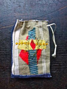 textile art by Junko Oki