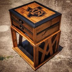 My Texas A&M themed nightstand. #dowoodworking #wood #woodworker #woodworking #woodwork #furniture #diy #doityourself #build #carpentry #custom #custommade #aggies #aggiering #art #design #furnituredesing #tamu #12thman #nightstand #dentistry #dentist #collegestation #dallas #gigem #work #hobby #hardwork #hardworkpaysoff #decor by molarwoodworking Our General Dentistry Page: http://www.lagunavistadental.com/services/general-dentistry/ Google My Business…