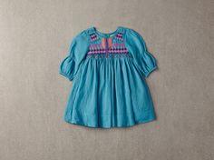 Nellystella Clover Dress in Aquamarine – The Girls @ Los Altos