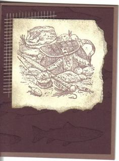 Angler greeting by toosi - Cards and Paper Crafts at Splitcoaststampers