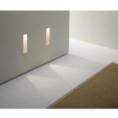 Dreidimensionale Wandeinbauleuchte LED, modernes Design BORGO TRIMLESS 35