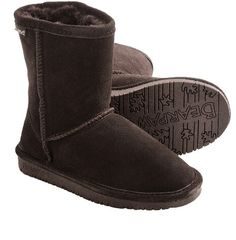 Wow cocoa brown bear paw boots
