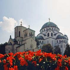 St. Sava Church and Cathedral in Belgrade, Serbia
