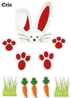 Páscoa Wood Crafts, Diy And Crafts, Arts And Crafts, Easter Printables, Easter Cookies, Easter Party, Easter Crafts, Animal Drawings, Paper Dolls