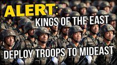 ALERT: KINGS OF THE EAST DEPLOY TROOPS TO MIDEAST