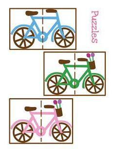 puzzel fietsen