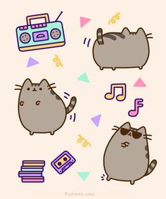 What's next for Pusheen? 6 career paths for pusheen. Chat Pusheen, Pusheen Love, Fat Cats, Cats And Kittens, Crazy Cat Lady, Crazy Cats, Simons Cat, Nyan Cat, Cool Cats